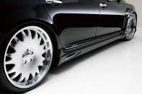 Накладки на пороги (внешние) в стиле Wald для Lexus LS 460