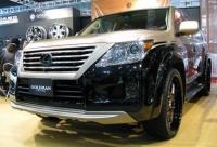 Аэродинамический обвес Goldman cruise для Lexus LX 570