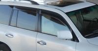 Дефлекторы окон (ветровики) для Lexus LX 570