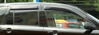 Дефлекторы окон (ветровики) для Mazda 2 (2002-2007 г.в.)