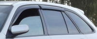 Дефлекторы окон (ветровики) для Mazda 323 F (1998-2003 г.в.) хэтчбек/универсал