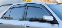 Дефлекторы окон (ветровики) для Mazda 323 (1998-2003 г.в.) седан