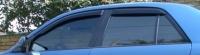 Дефлекторы окон (ветровики) для Mazda 626 (1997-2002 г.в.) седан/хэтчбек