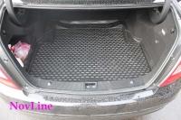 Коврик в багажник для Mercedes-Benz C-class W204 2007-2011 г.в. седан