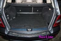 Коврик в багажник для Mercedes-Benz GLK-class X204 2008-...г.в.
