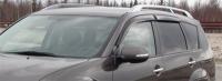 Дефлекторы окон (ветровики) для Mitsubishi Outlander II XL (2007-2012 г.в.)
