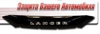 Дефлектор капота для Mitsubishi Lancer X 2007-2010 г.в., до рестайлинга