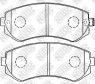 Тормозные колодки задние для Nissan Patrol Y61 (1997-2013)