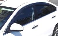 Дефлекторы окон (ветровики) для Nissan Almera IV (2012-... г.в.) седан