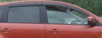 Дефлекторы окон (ветровики) для Nissan Note (2005-... г.в.)