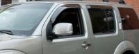 Дефлекторы окон (ветровики) для Nissan Pathfinder III (2005-... г.в.)