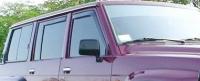 Дефлекторы окон (ветровики) для Nissan Patrol (1987-1997 г.в.)