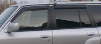 Дефлекторы окон (ветровики) для Nissan Patrol (1998-2009 г.в.)
