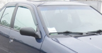 Дефлекторы окон (ветровики) для Nissan Primera (1990-1996 г.в.)