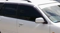 Дефлекторы окон (ветровики) для Nissan Primera (1996-2001 г.в.) универсал
