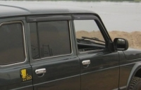 Дефлекторы окон (ветровики) для ВАЗ 2131 Нива