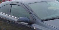 Дефлекторы окон (ветровики) для Opel Astra H GTC (2005-... г.в.) 3 дверный хэтчбек