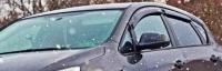 Дефлекторы окон (ветровики) для Opel Astra J (2009-... г.в.) 5 дверный хэтчбек