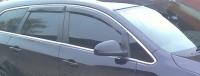 Дефлекторы окон (ветровики) для Opel Astra J (2010-... г.в.) универсал