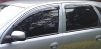 Дефлекторы окон (ветровики) для Opel Corsa C (2000-2006 г.в.) 5 дверная