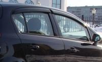 Дефлекторы окон (ветровики) для Opel Corsa D (2006-... г.в.) 5 дверная