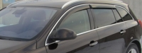 Дефлекторы окон (ветровики) для Opel Insignia Sport Tourer (2009-... г.в.)