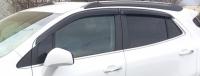 Дефлекторы окон (ветровики) для Opel Mokka (2012-... г.в.)