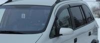 Дефлекторы окон (ветровики) для Opel Zafira A (1999-2005 г.в.)