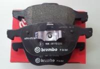Тормозные колодки передние для Mazda 3 (BK, BL) (2003-2013 г.в.)