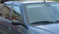 Дефлекторы окон (ветровики) для Peugeot 306 (1993-2005 г.в.)
