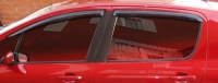 Дефлекторы окон (ветровики) для Peugeot 307 (2001-2008 г.в.) хэтчбек