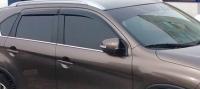Дефлекторы окон (ветровики) для Peugeot 4008 (2012-... г.в.)