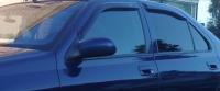 Дефлекторы окон (ветровики) для Peugeot 406 (1995-2004 г.в.) седан