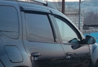 Дефлекторы окон (ветровики) для Renault Duster (2010-... г.в.)