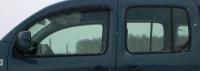 Дефлекторы окон (ветровики) для Renault Kangoo II (2008-... г.в.)