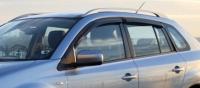Дефлекторы окон (ветровики) для Renault Koleos (2008-... г.в.)