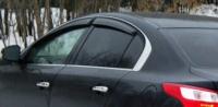 Дефлекторы окон (ветровики) для Renault Latitude (2010-... г.в.)