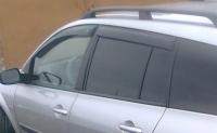 Дефлекторы окон (ветровики) для Renault Megane II (2002-2008) универсал