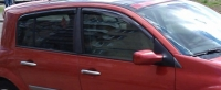 Дефлекторы окон (ветровики) для Renault Megane II (2002-2008) 5 дверный хэтчбек