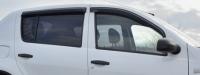 Дефлекторы окон (ветровики) для Renault Sandero (2007-... г.в.)