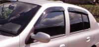 Дефлекторы окон (ветровики) для Renault Symbol (2002-2008)