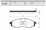 Тормозные колодки передние для Nissan NP300 (D22) (2008-...)
