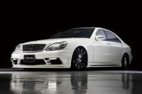 Аэродинамический обвес Wald Black Bison для Mercedes Benz S-class W220 (дорестайл)