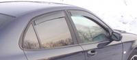 Дефлекторы окон (ветровики) для Saab 9-3 (2002-2007)