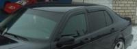Дефлекторы окон (ветровики) для Saab 9-5 (1997-... г.в.) седан/универсал