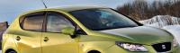 Дефлекторы окон (ветровики) для Seat Ibiza IV (2009-... г.в.) 5 дв. хэтчбек