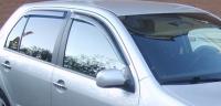 Дефлекторы окон (ветровики) для Skoda Fabia I (2000-2007 г.в.) седан и хэтчбек
