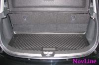 Коврик в багажник для Suzuki Splash 2008-...г.в. хэтчбек