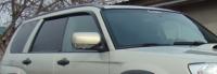 Дефлекторы окон (ветровики) для Subaru Forester II (2002-2008)