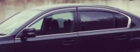 Дефлекторы окон (ветровики) для Subaru Legacy (2009-... г.в.) седан